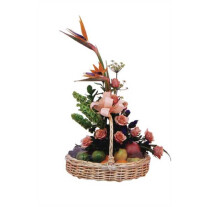 Fruits & Flowers Basket